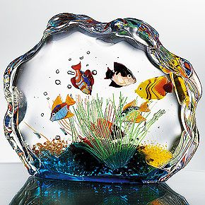 Murano Glass Aquarium  		  		  		  		               		                      Murano Glass Aquarium#Repin By:Pinterest++ for iPad#