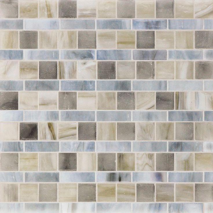 459 best Mosaic Glass Tile images on Pinterest | Glass tiles ...