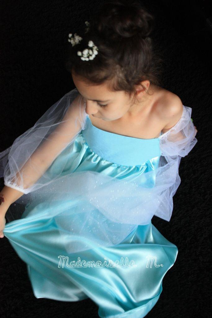 Reine des Neiges Frozen Robe Dress