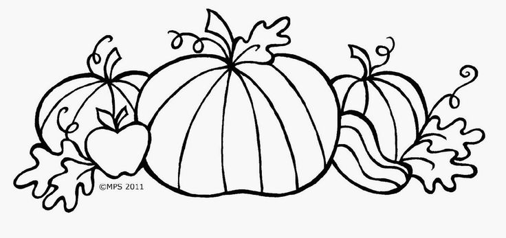 17 Best Images About Coloring: Autumn & Thanksgiving On
