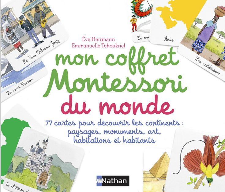 Mon coffret du monde Montessori   Montessori   Éditions NATHAN