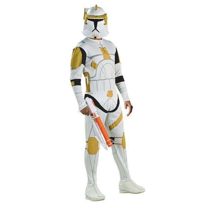 Halloween Herren Star Wars Clone Trooper Kommandant Cody Halloween Kostum L Grosse Gross Mehrfarbig Products