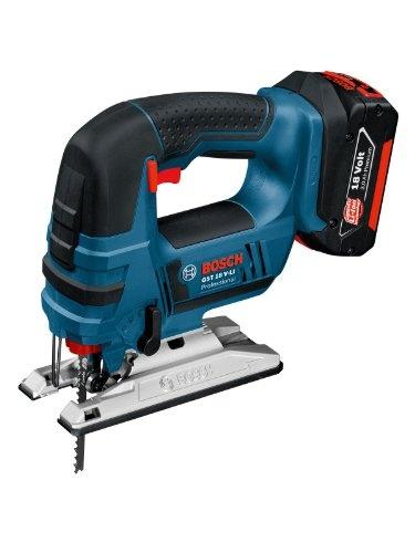 Bosch Professional GST18V-LIN Professional 18V Cordless Body Only Jigsaw in L-Boxx - http://homeimprovementx.co.uk/tools/saws/bosch-professional-gst18v-lin-professional-18v-cordless-body-only-jigsaw-in-l-boxx/