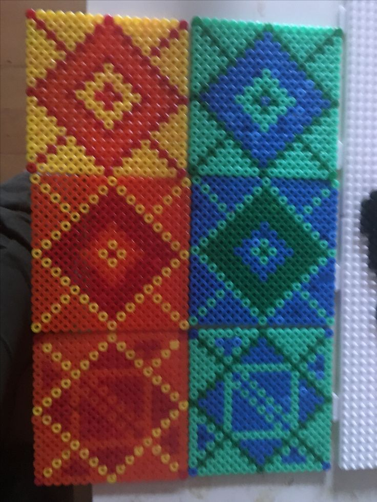 Coasters hama beads