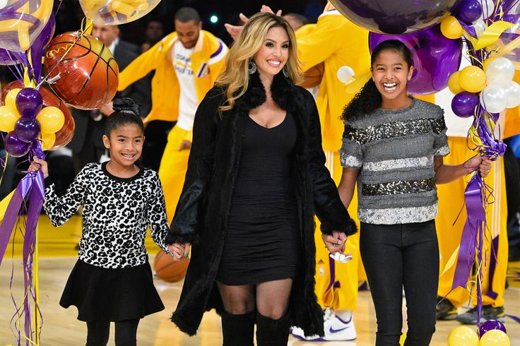Significant others ~ Vanessa Bryant (Kobe Bryant) Vanessa Bryant, along with daughters Gianna Maria-Onore (left) and Natalia Diamante Bryant (right) bring out balloons to Kobe Bryant at a basketball game between the Los Angeles Lakers and the Oklahoma City Thunder on Dec. 19 in Los Angeles.
