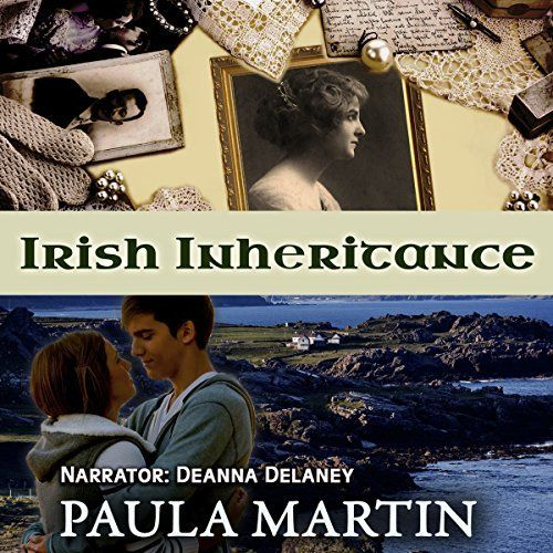"Another must-listen from my #AudibleApp: ""Irish Inheritance"" by Paula Martin, narrated by Deanna Delaney."