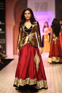 Z Fashion Trend: STUNNING INDO WESTERN DRESS FOR WOMEN
