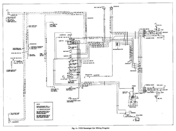 17  1952 Chevrolet Truck Wiring Diagram
