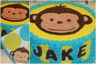 Love this cake for Gavin's First Birthday