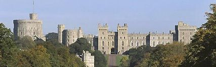 Windsor Castle - official residence of the Queen and the largest occupied castle in the world.