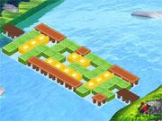 Free Online Puzzle Games, Strategize on how to connect two distant lands as you work to rebuild their bridges!  You'll have to move around certain blocks and plan ahead if you want to successfully complete each level!  Play tons of levels and try to rebuild each bridge in as few moves as possible!, #brain #teaser #strategy #puzzle