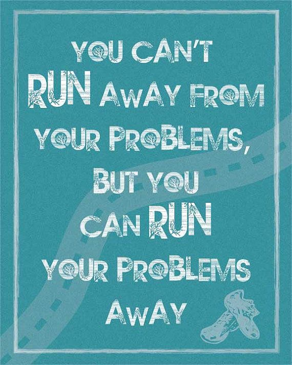 Great print for runners.