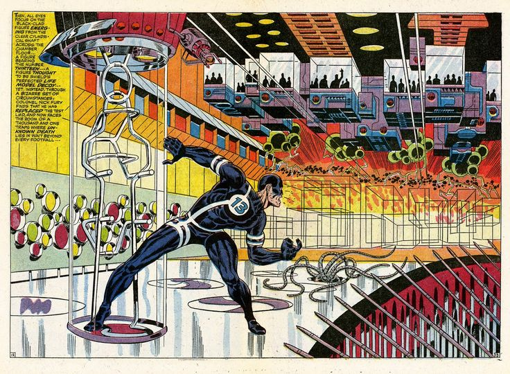 """Diversions of the Groovy Kind: Lo! There Shall Come Endings Week: """"Whatever Happened to Scorpio?"""" by Jim Steranko"""