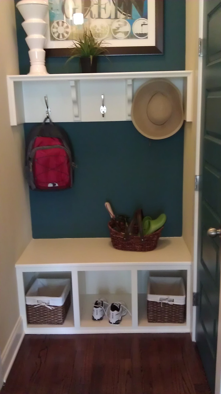 mud room for small space
