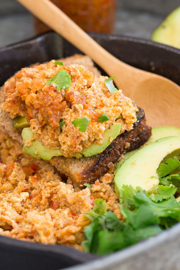 Sofrito Egg Scramble. Sofrito is an easy way to add a bunch of flavor and spice to breakfast!
