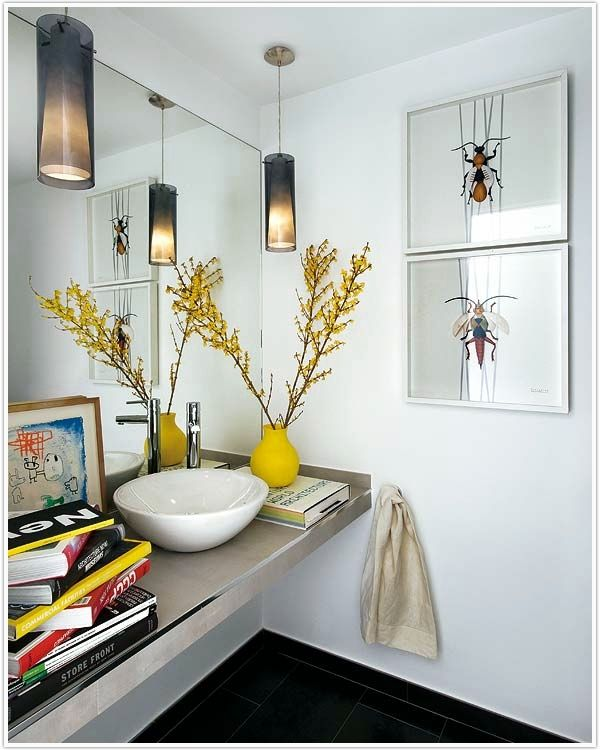 Inspiration from Bathrooms.com: This laid back approach means the bathroom aspect of the room is almost incidental to the decor. Love it. #bath #bathroom #spa #wetroom
