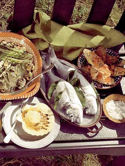 Dorade met laurier, zeebaars met lavas en sardines met zeezout / Recepten / Eten | ELLE Eten Mobiel