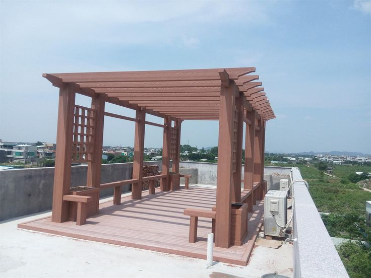 Can Be Used Twice The Wpc Pergola Material