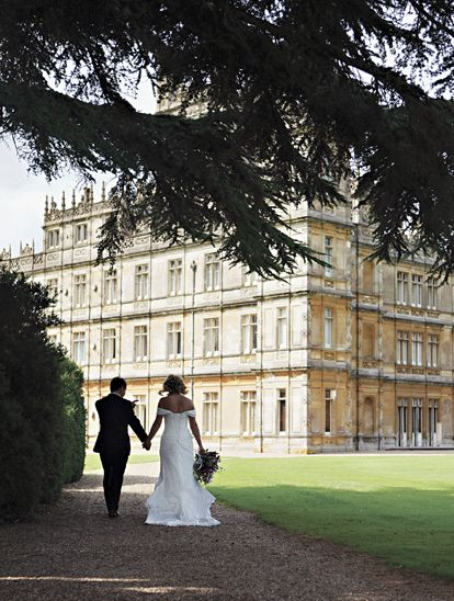 Downton Abbey wedding - I wish!