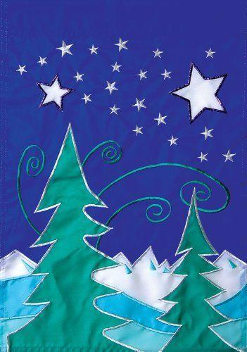 Winter Solstice Garden Applique Flag By Toland Home Garden. $9.15. Toland  Flags Are Made