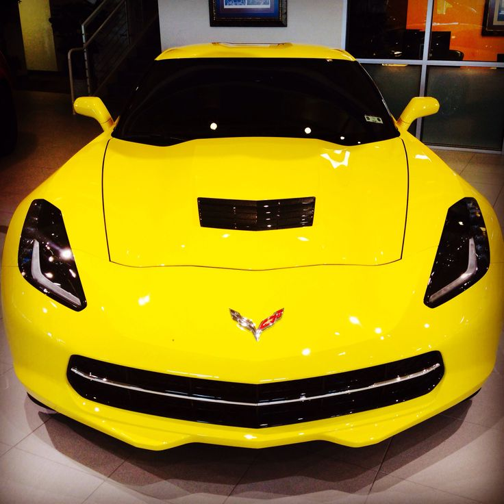 Supercharged Mustang Yellow: 1000+ Ideas About C7 Stingray On Pinterest