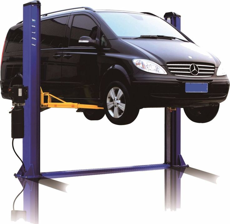 2 Post Base Plate Car Auto Truck Hoist Lift L1000 10K