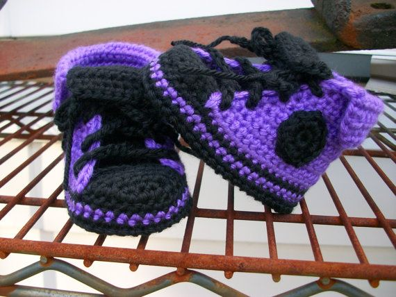Hey, I found this really awesome Etsy listing at https://www.etsy.com/listing/117253330/punk-rock-purple-and-black-baby-chucks