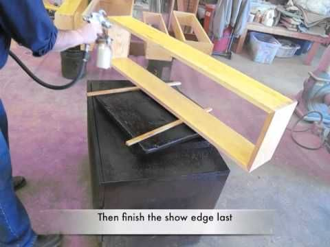 Video: Spray-finishing the Monticello Bookcases - Popular Woodworking Magazine