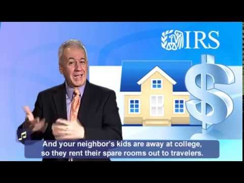 ASL: Sharing Economy, Tax keeping rules over view on IRS website (Captions & Audio) - YouTube