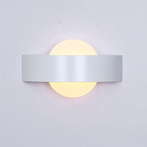 Lightess led wall sconce light modern simple wall lamp lighting fixture 6w warm white