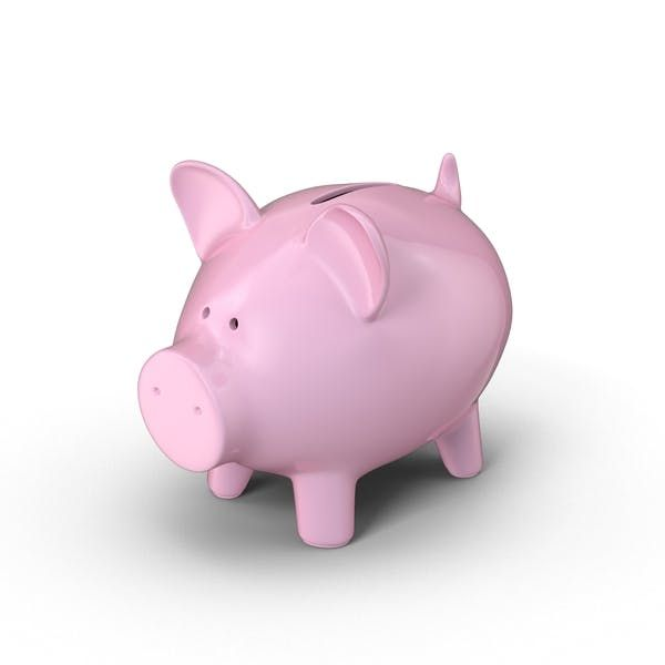 Piggy Bank By Pixelsquid360 On Envato Elements Piggy Bank Png Png Images