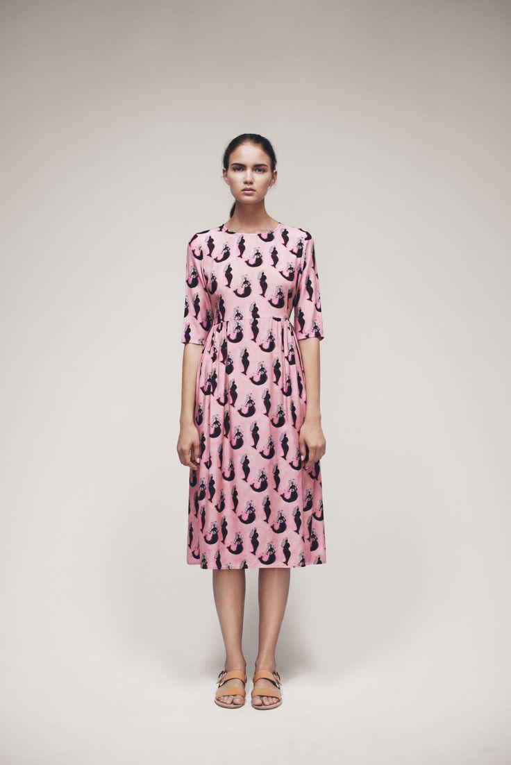 Kirjain Dress | Samuji SS15 Seasonal Collection