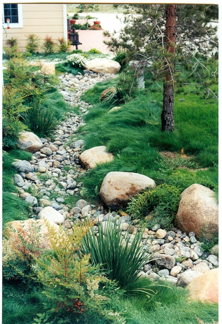 Dry Riverbed Landscaping Ideas Best 25 Dry Creek Ideas On