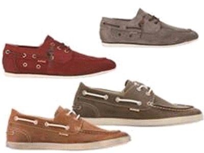 For men that love style, try a #moccasin! U.S. Polo Assn. summer footwear.