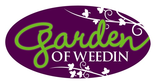 New client logo for Garden of Weedin - Check us out at www.bluecowcreative.ca
