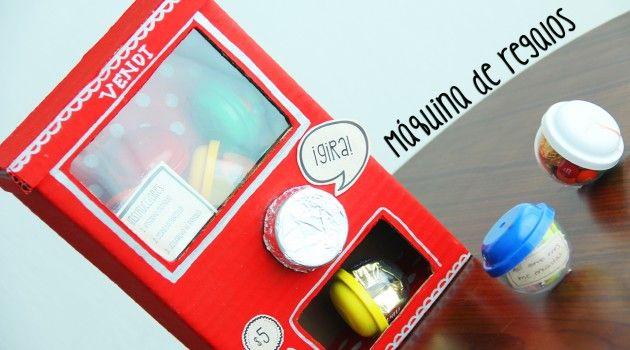 Máquina de regalos tipo Vending Machine: idea original