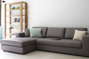 l shaped sofa grey