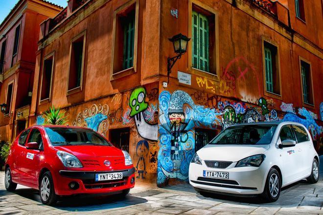 NISSAN PIXO 1.0 vs SEAT MII ECOMOTIVE 1.0 #Nissan #SEAT http://www.caranddriver.gr/article.asp?catid=33052&subid=2&pubid=7315910
