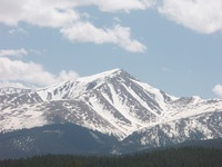 Mount Elbert in near Leadville, Colorado.  Great mountain for hiking and exploring!