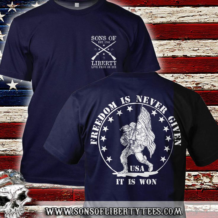 Freedom is never given, it is won.  Military T-Shirt.  #Comeandtakeit #Liberallunacy #Molonlabe #Patriot #Pc #Politicalcorrectness #ProGun #Rednationrising #Sonsoflibertytees #Teaparty #Threepercent