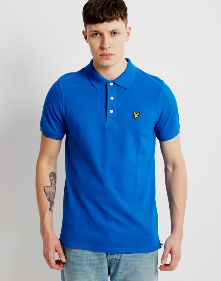 Lyle & Scott Polo Shirt Blue   Shop menswear at The Idle Man