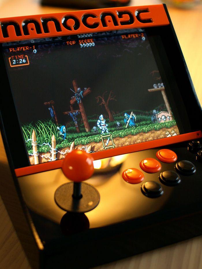 how to build an arcade machine using pi3
