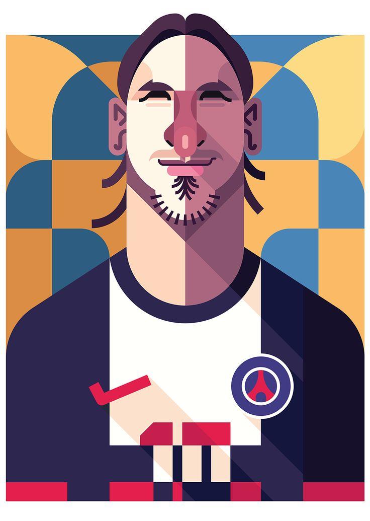 Zlatan Ibrahimovic | PSG | by Daniel Nyari