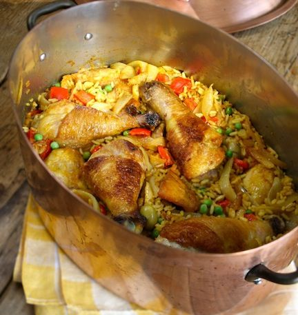 Arroz Con Pollo - The Family Dinner by Laurie David