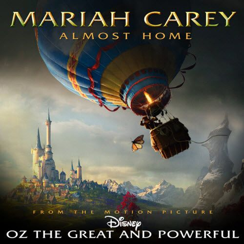 """Mariah Carey  """"Almost Home""""  Disney Oz the Great and Powerful    Imagery: Surprise, a Monarch Butterfly! = monarch mind control. Wizard of Oz is one of the top mind programming films. Phrases such as """"Over the Rainbow"""" and """"Down the Yellow Brick Road"""" are used as trigger phrases."""