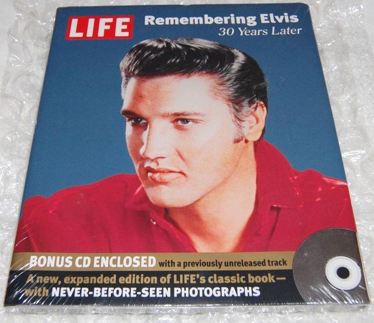 LIFE Remembering Elvis 30 Years Later - Hardcover w/Bonus CD - Brand New