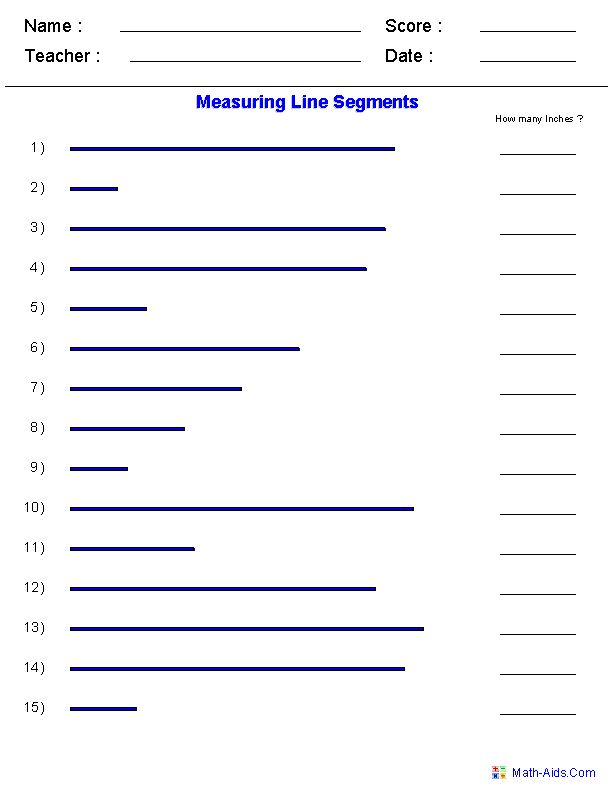 Drawing Lines In Cm Worksheet : Best primary school math measurement length