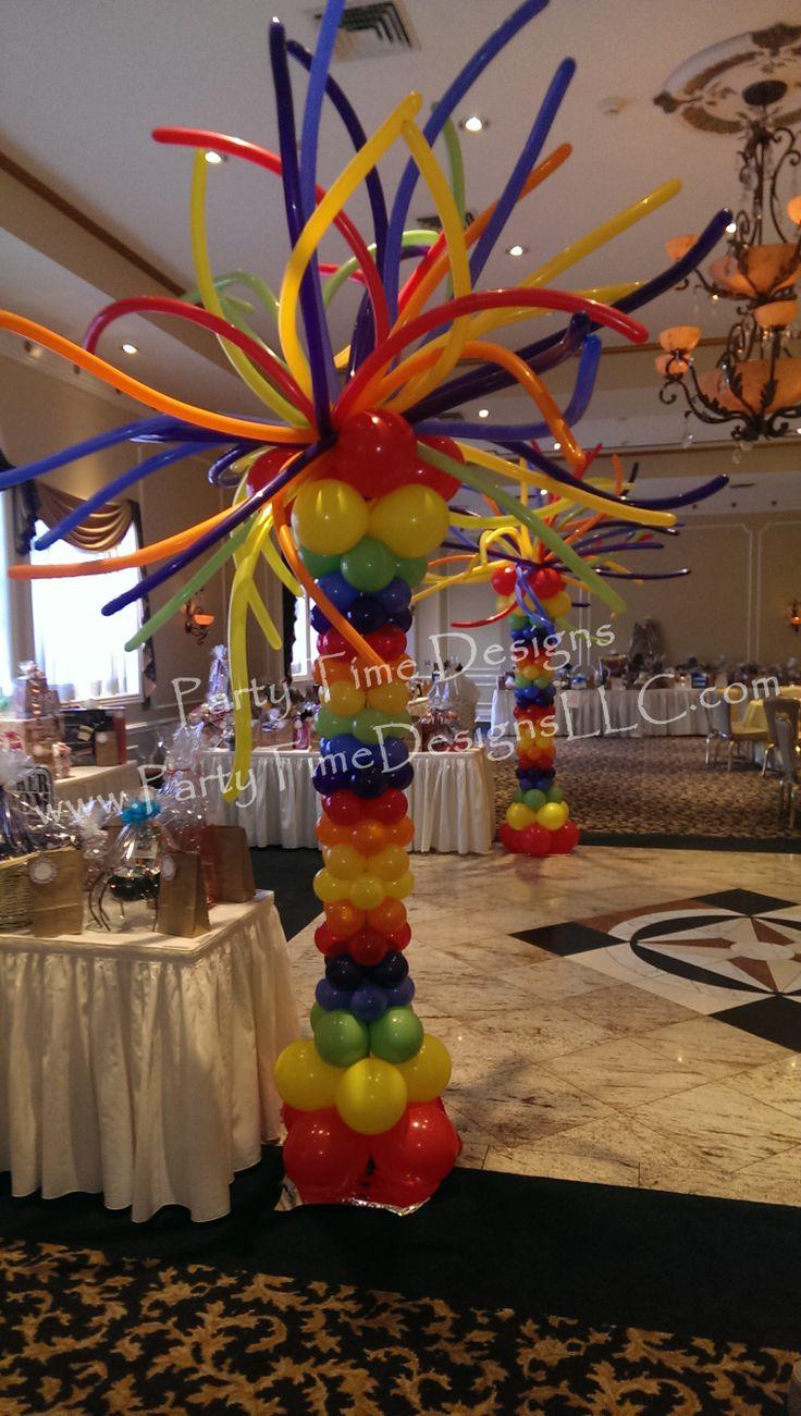 1000+ images about Balloon Columns, Pillars, Decoration on ...