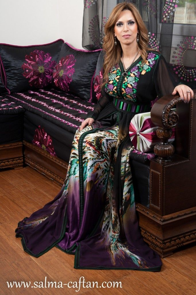 2142 best images about moroccan caftan on pinterest for Caftan avec satin de chaise