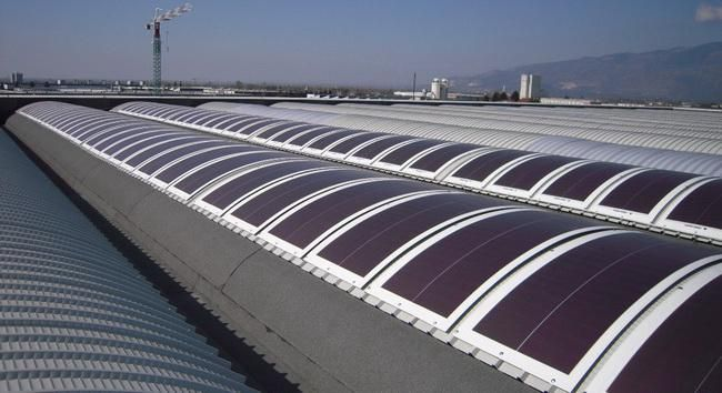 images membrane with PV panels - Google Search